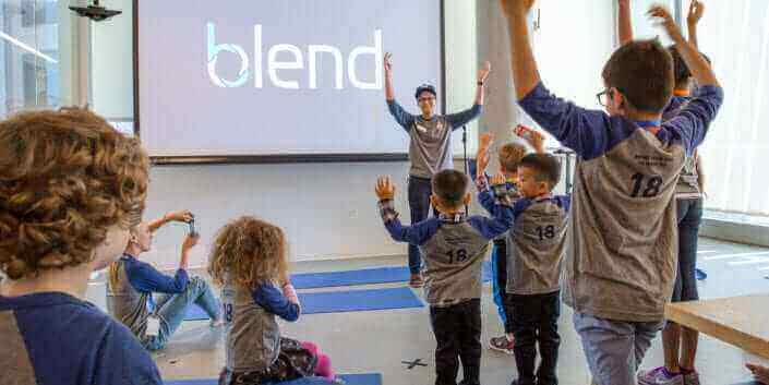 parenting at Blend